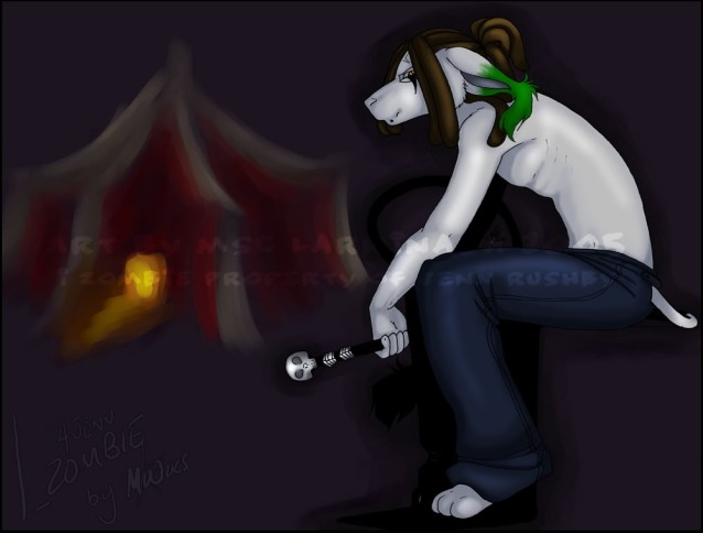 I Zombie by HoboRiss@dA