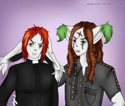 I Zombie and Priest by TragicFangirl