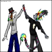 I Zombie and Rensis by omfg@dA