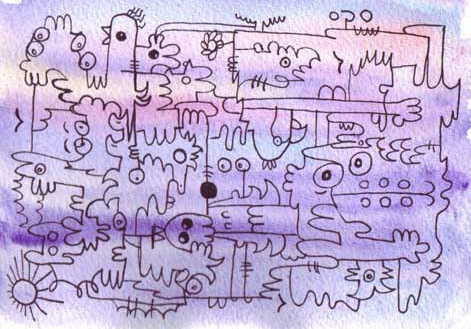 doodle_on_watercolour_by_jenn_rushby-d7i7a2b