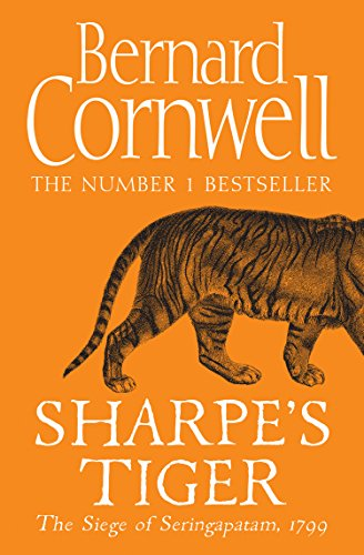 Book cover for Sharpe's Tiger by Bernard Cornwell