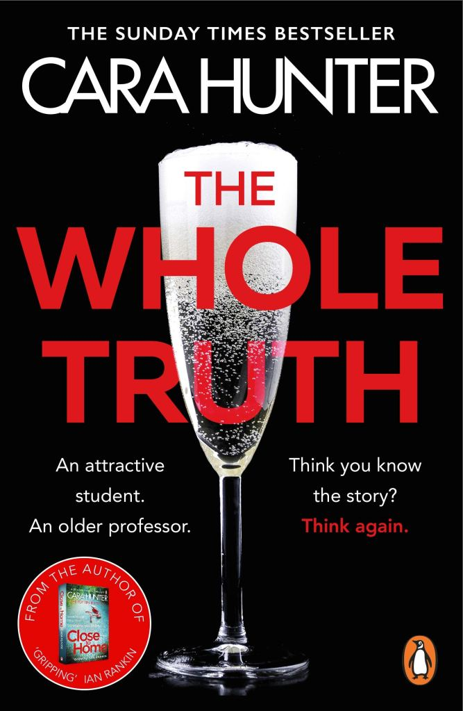 Book cover image for The Whole Truth by Cara Hunter