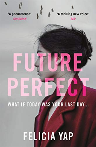 Book cover of the novel Future Perfect by Felicia Yap