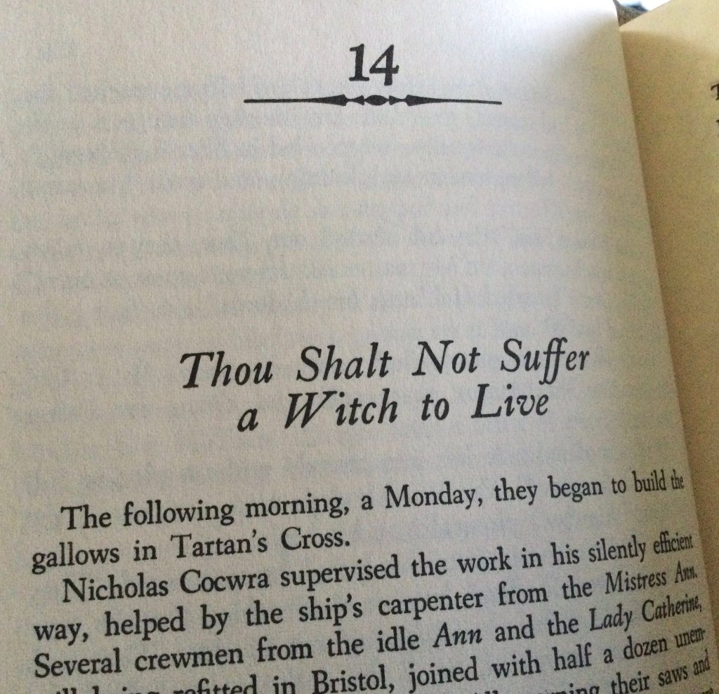 Thou Shalt Not Suffer a Witch to Live